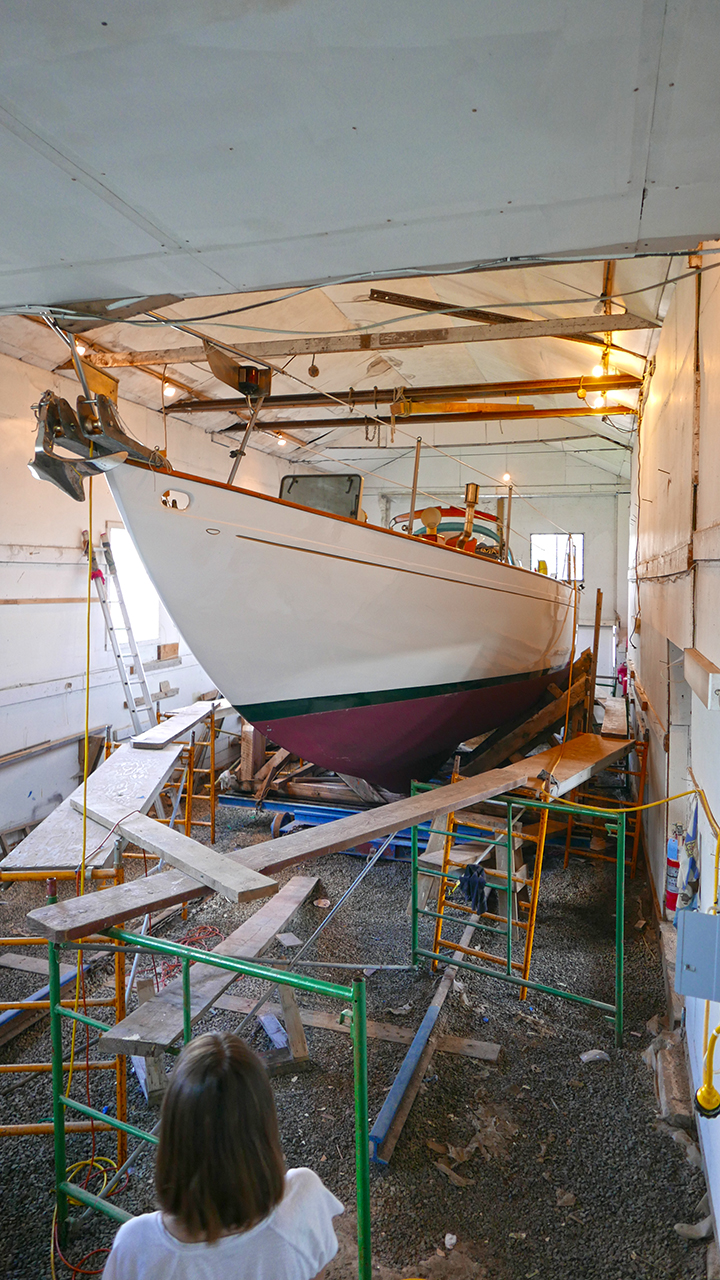 Baddeck_Henry'sBoat_bow_BLOG