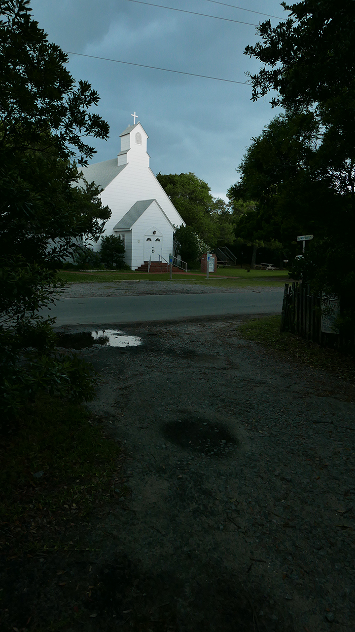 OCRACOKE_church BLOG